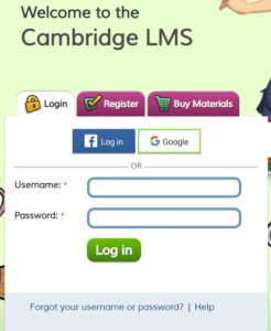 Log in Super Minds